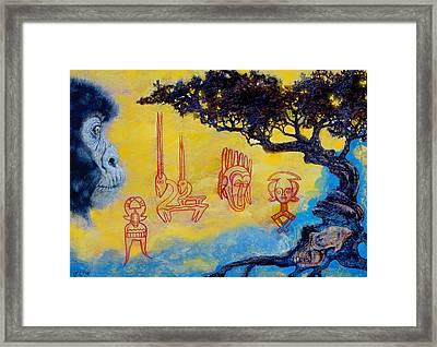 African Dream Framed Print by Derrick Higgins