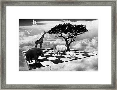 African Game Of Equality Framed Print