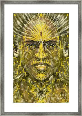 In Heart And Mind Framed Print by Michael African Visions