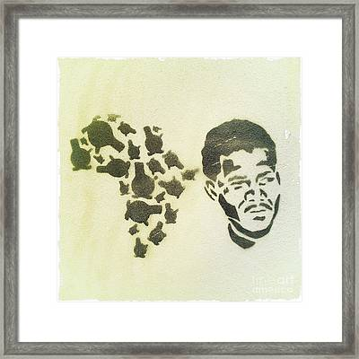 African Icon Framed Print by Neil Overy