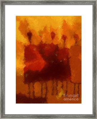 African Impression Framed Print by Lutz Baar