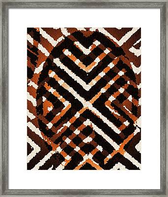 African Peace Framed Print by Jacqueline Mason