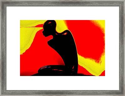 African Pride Framed Print by Ricardo Scott