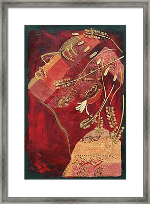 African Queen Framed Print by Diane Fine