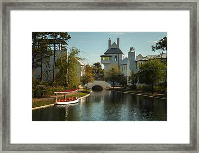 African Queen In Alys Beach Canal Framed Print by Frank Feliciano