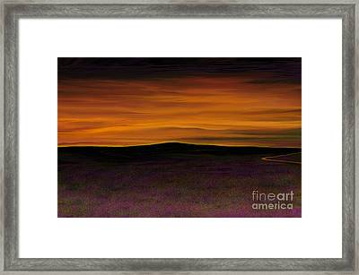 African Sky Framed Print by Rand Herron