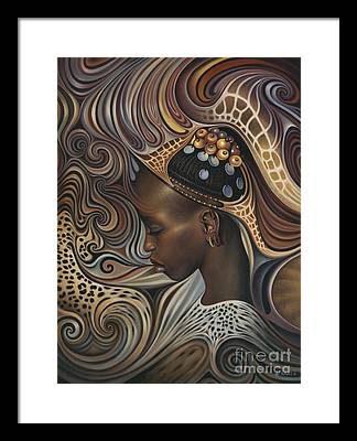 African Women Framed Prints