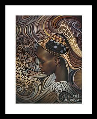 African Framed Prints