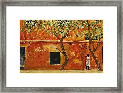 African Sweeping Framed Print