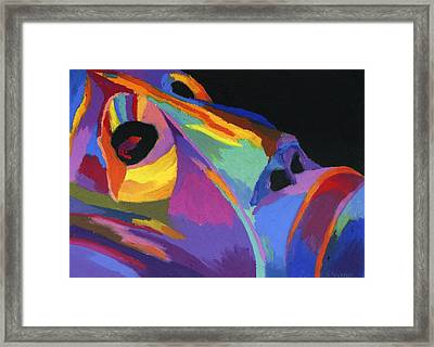 African Tribal Mask Framed Print by Stephen Anderson