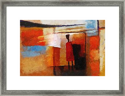 Africana Framed Print by Lutz Baar