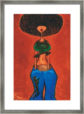 Afrocentric Framed Print