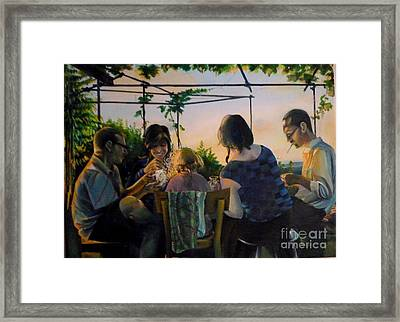 Afternoon In The Countryside Framed Print by Alessandra Andrisani