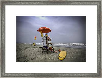 After A Brief Delay Framed Print