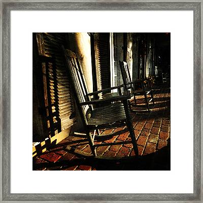 After A Hard Day's Work Framed Print by Randi Grace Nilsberg