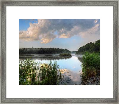 After A Passing Storm Framed Print