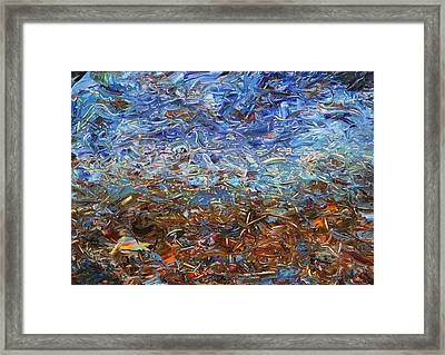 After A Rain Framed Print
