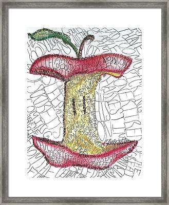 After Apple Picking Framed Print by D Renee Wilson