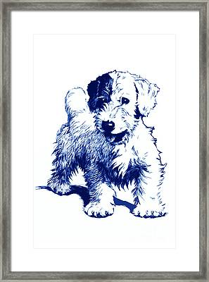 After Cecil Aldin Framed Print by   Alex