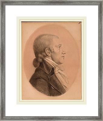After Charles-balthazar-julien-févret De Saint-mémin Framed Print