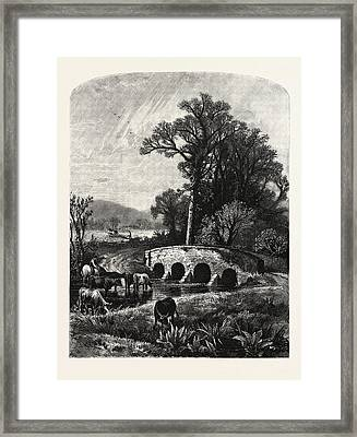 After Dark Vapors Have Oppressed Our Plains For A Long Framed Print by English School