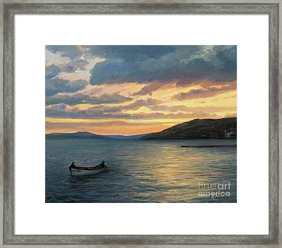 After Fishing Framed Print by Kiril Stanchev