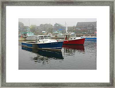 After Five  Rockport Harbor Framed Print by Gail Maloney