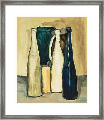 After G. Morandi 1 Framed Print