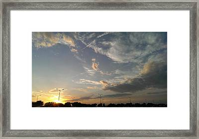 After Glow Framed Print by Forum  Gala