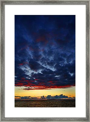 After Glow Framed Print