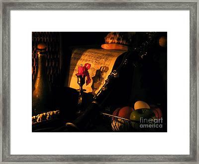 After Glow Framed Print by Joe Jake Pratt