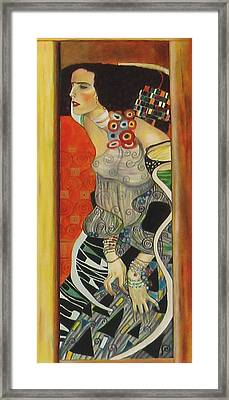 After Gustav Klimt Framed Print