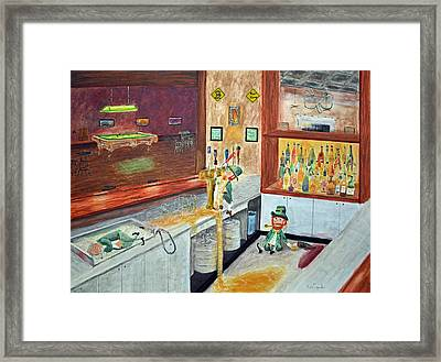 After Hours Party Framed Print by Ken Figurski