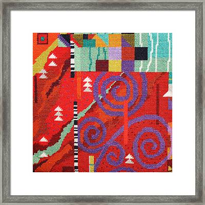 After Klimt Framed Print by Connie Pickering Stover