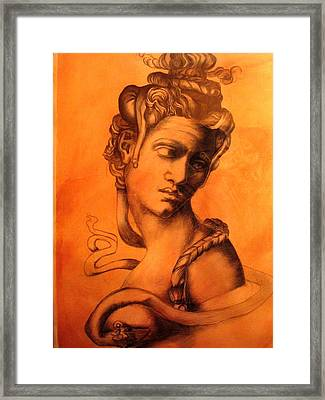 After Michaelangelo Framed Print by Paulo Leal