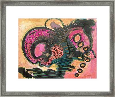 After Midnight Framed Print by MtnWoman Silver