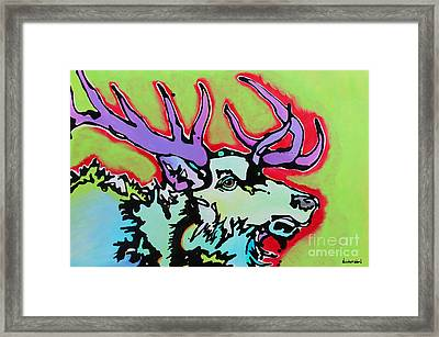 Framed Print featuring the painting After Midnight by Nicole Gaitan