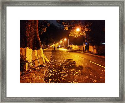 After Rain Effect Framed Print by Atinderpal Singh