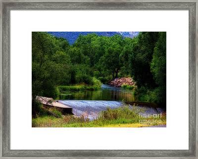 After Rain Framed Print by Jon Burch Photography