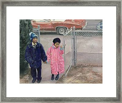 After School Framed Print by Colin Bootman