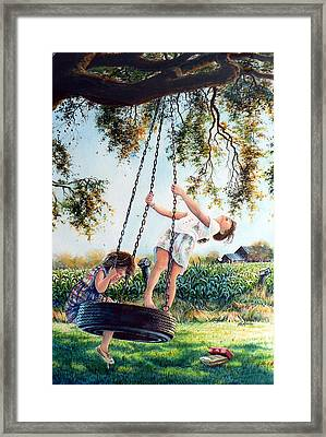 After School Framed Print by Hanne Lore Koehler