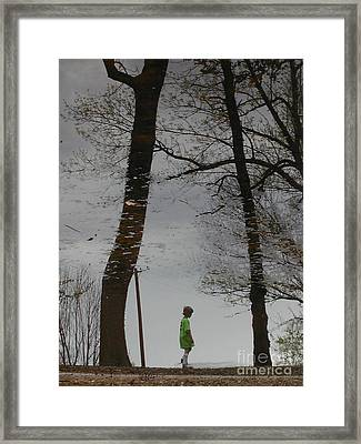 After Soccer Framed Print