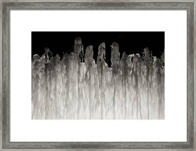 After Sylvia Framed Print by Robin Mahboeb