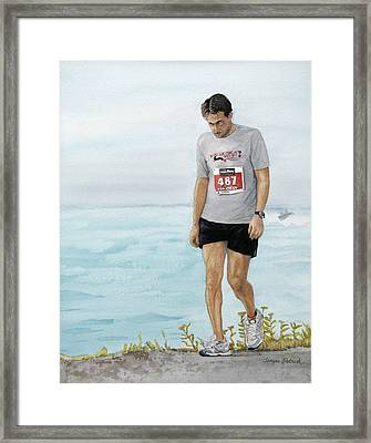 After Ten Hours Framed Print by Tanya Petruk