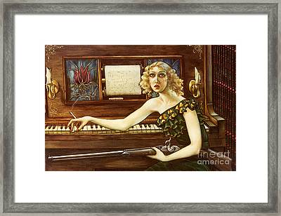 After The Auction Framed Print by Jane Whiting Chrzanoska