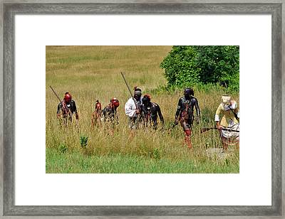 After The Battle Framed Print by William Coffey