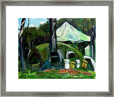 After The Big Rain Framed Print by Charlie Spear