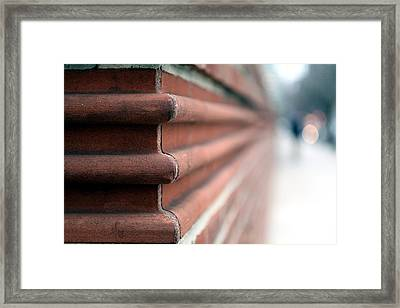 Framed Print featuring the photograph After The Corner by Dorin Adrian Berbier