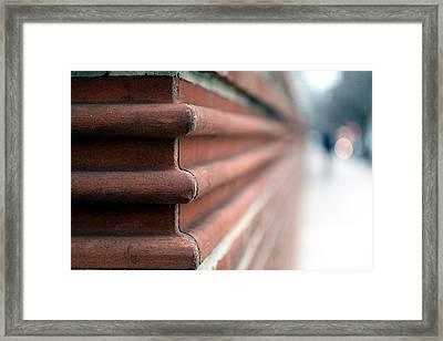 After The Corner Framed Print by Dorin Adrian Berbier