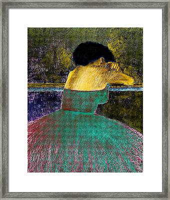 After The Dance Framed Print by David Patterson